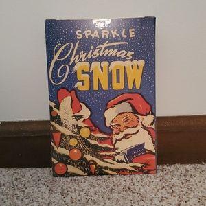 NIB Sparkle Christmas Snow